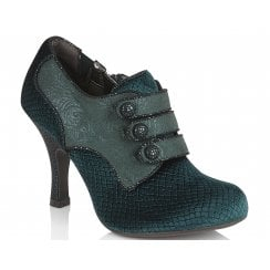 Ruby Shoo Octavia Ladies Green High Heels