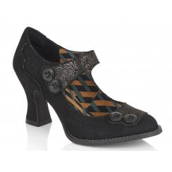 Ruby Shoo Penny Nero High Heels