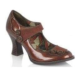 Ruby Shoo Penny Bronze High Heels