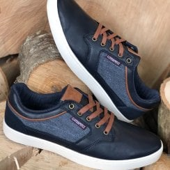 Lloyd & Pryce Tommy Bowe Mens Gifford Storm Navy Trainers