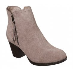 Skechers Ladies Taxi- Don't Trip Taupe Boot