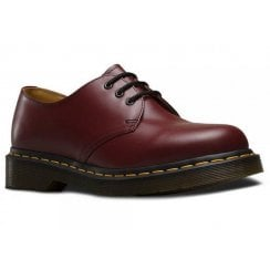 Dr Martens 1461 Cherry Red Smooth Shoes