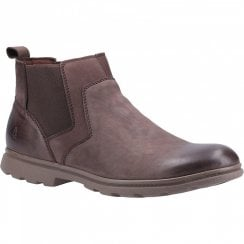 Hush Puppies Mens Tyrone Brown Boots