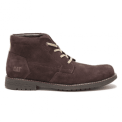 Caterpillar Mens Aiden Brown Suede Boots