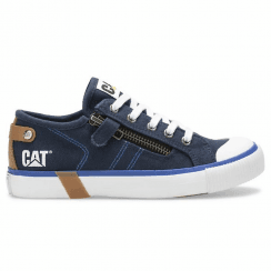Caterpillar Boys Carl Navy Trainers