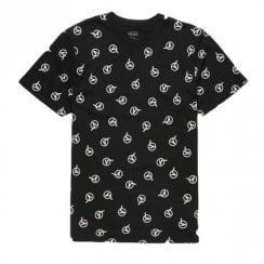 Vans Mens Dimensions AOP Black T-Shirt