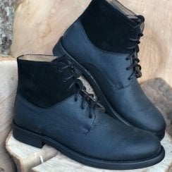 Frank Wright Mens Leather Lace Up Boots