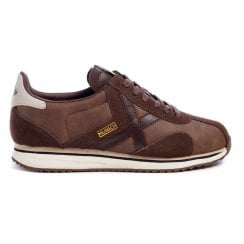 Munich Mens Sapporo 96 Brown Trainers