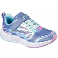 Skechers Girls Speed Runner Magical Collection Lavender Trainers