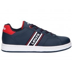 Levi's Boys Brandon Navy Trainers