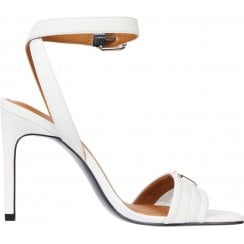 Tommy Hilfiger Ladies White High Heel Sandals