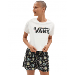 Vans Womens Blozzom Roll Out T-Shirt