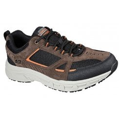 Skechers Mens Brown Oak Canyon Trainers
