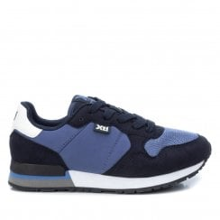 Xti Kids Navy Trainers