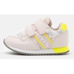 Levi's Girls New Springfield Mini Pink Trainers