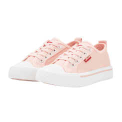 Levi's Girls Maui Pink Elasticated Trainers