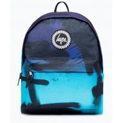 Hype Blue Spray Navy Backpack