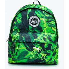 Hype Slime Green and Black Backpack