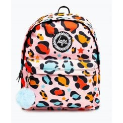 Hype Star Leopard Multicolour Backpack