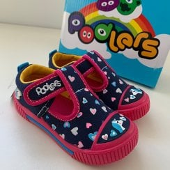 Podler Kids Rio Navy Unicorn Infant Shoes