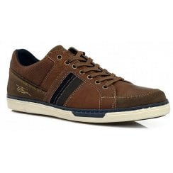 Lloyd and Pryce Mens Franks Shandy Brown Trainers