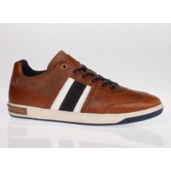 Lloyd and Pryce Mens Roux Amber Syrup Trainers