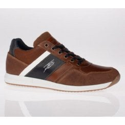 Lloyd and Pryce Mens Toner Umber Trainers