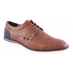 Morgan and Co Mens Brown Casual Lace Up Shoe